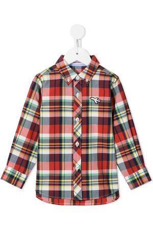 Familiar Niño Camisas - Camisa a cuadros con botones