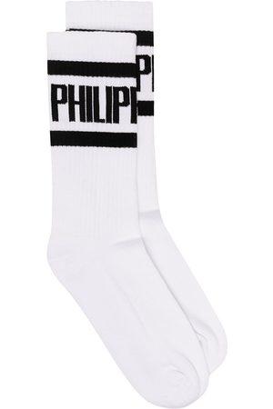 Philipp Plein Calcetines con logo estampado
