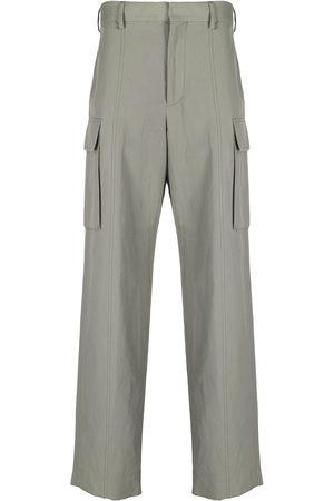 Stella McCartney Pantalones cargo rectos