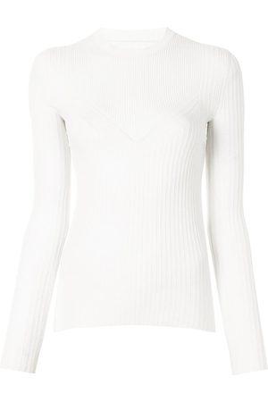 PROENZA SCHOULER WHITE LABEL Mujer Suéteres - Suéter tejido de canalé