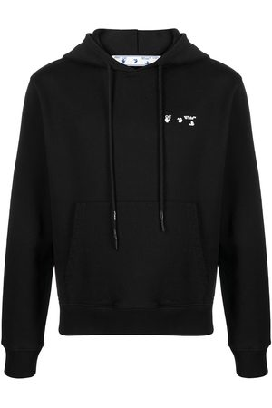 OFF-WHITE Hombre Con capucha - Logo-print hoodie