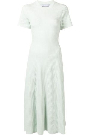 PROENZA SCHOULER WHITE LABEL Vestido de canalé