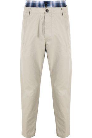 Dsquared2 Hombre Chinos - Pantalones chino a capas