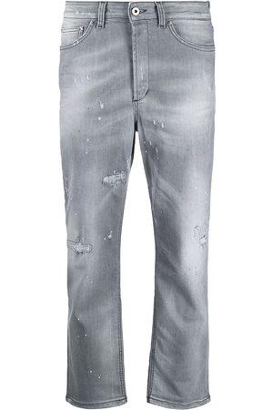 Dondup Mujer Jeans - Jeans capri con efecto lavado