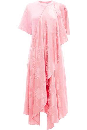 J.W.Anderson Mujer Asimétricos - Vestido estilo playera asimétrico