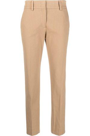 PIAZZA SEMPIONE Pantalones de vestir con estampado a rayas diplomáticas