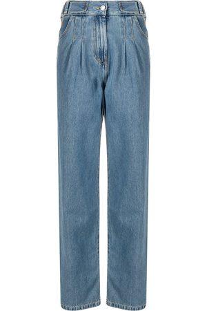 Msgm Jeans con pliegues