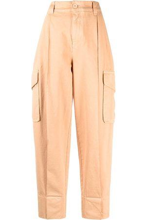 See by Chloé Pantalones tapered con tiro alto