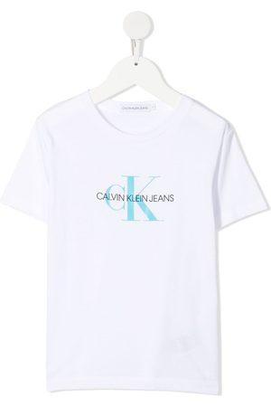 Calvin Klein Niño Playeras - Playera con logo estampado