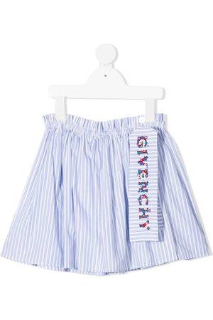 Givenchy Niña Faldas - Falda a rayas con bordado