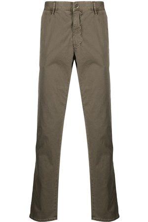 Incotex Pantalones rectos con tiro medio
