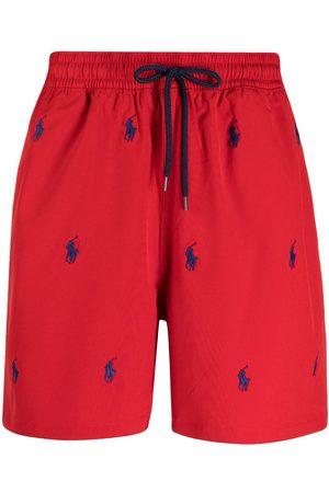 Polo Ralph Lauren Hombre Shorts - Shorts de playa con cordones en la pretina