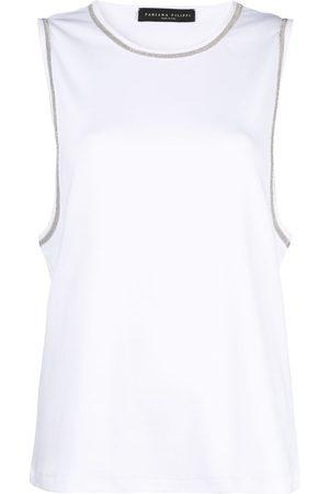 Fabiana Filippi Camiseta con detalles