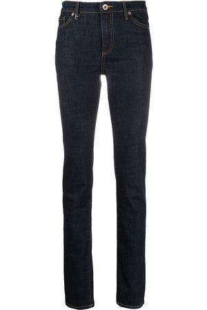 Armani Mujer Skinny - Jeans slim con bolsillos