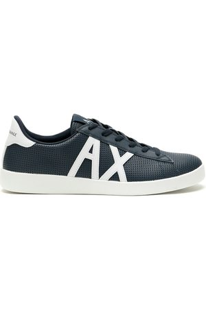 Armani Logo-print lace-up sneakers