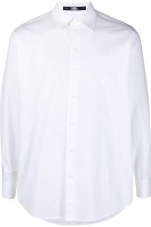 Karl Lagerfeld Camisas - Camisa de popelina con logo