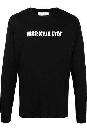 1017 ALYX 9SM Hombre Playeras - Playera con logo estampado