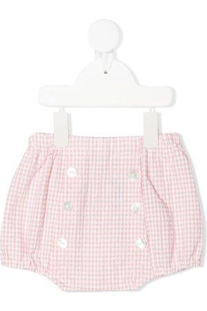SIOLA Shorts con estampado de cuadros gingham