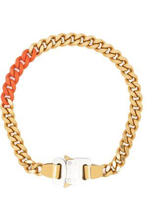 1017 ALYX 9SM Hombre Collares - Collar de cadena barbada con hebilla