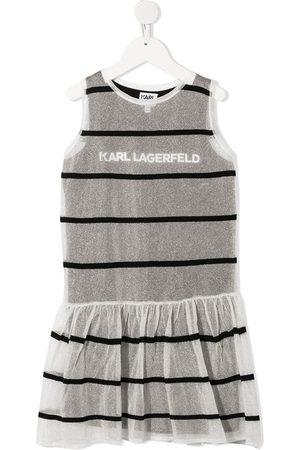 Karl Lagerfeld Vestido tejido a capas
