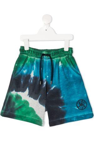 Msgm Shorts con estampado tie-dye