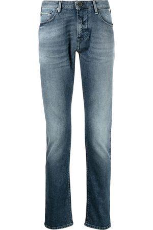 Emporio Armani Jeans slim con efecto lavado