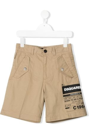Dsquared2 Shorts con logo estampado