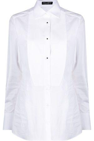 Dolce & Gabbana Camisa de popelina manga larga
