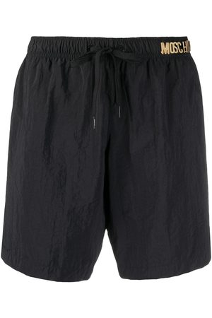Moschino Shorts de playa con letras del logo
