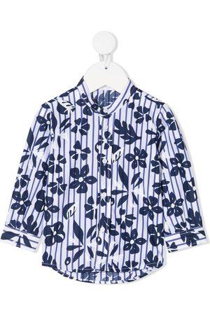 Il gufo Camisas - Camisa con estampado floral