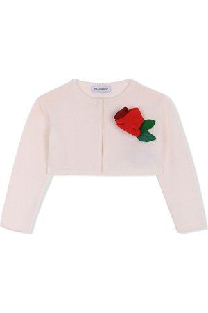 Dolce & Gabbana Floral appliqué cardigan