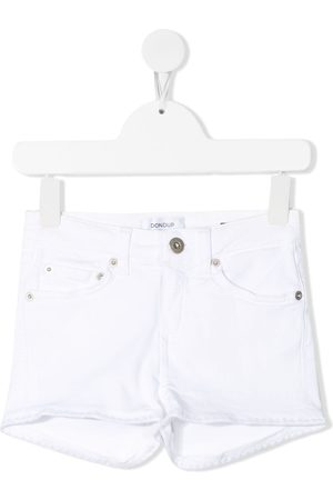 Dondup Niña De mezclilla - Frayed denim shorts