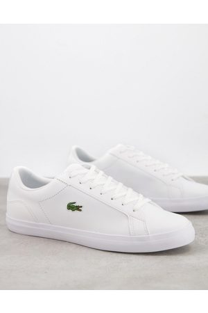 Lacoste Lerond BL2 trainers in white leather