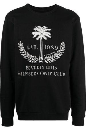 Ih Nom Uh Nit Embroidered 'Palm' Sweatshirt Black