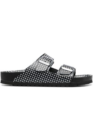Birkenstock Polka-dot print two-strap sandals