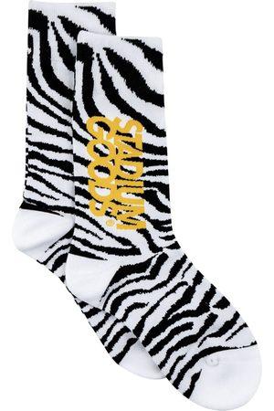 Stadium Goods Zebra-print socks