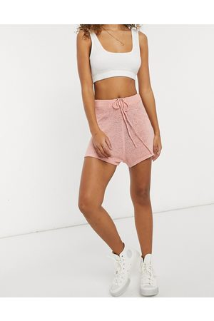 Cotton On Knitted shorts in pink