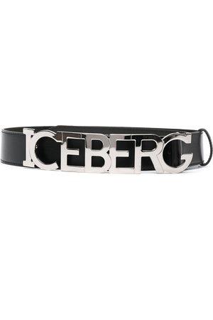 Iceberg Cinturón con logo