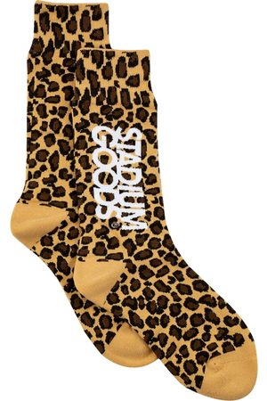 Stadium Goods Leopard-print socks