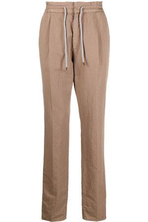 Brunello Cucinelli Hombre Pantalones y Leggings - Pantalones rectos con cordón