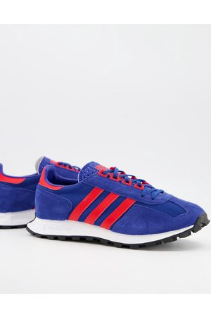 adidas Racing 1 trainers in blue