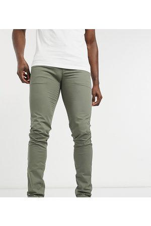 Farah Elm tall organic cotton chino in khaki