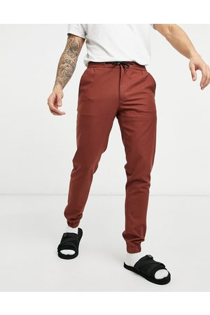 ASOS Skinny smart jogger in rust