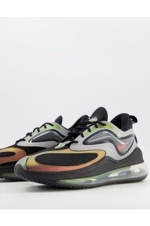 Nike Air Max Zephyr EOI trainers in metallic silver