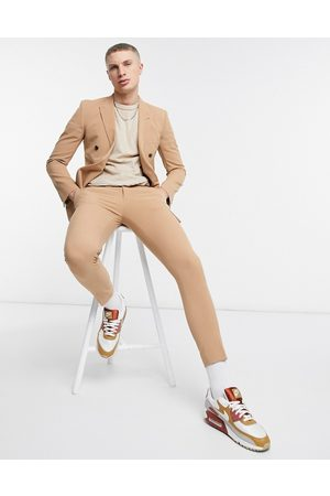 ASOS Super skinny suit trousers in camel