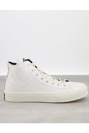 Replay High top trainers in white
