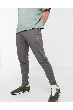 Il Sarto Logo joggers in grey