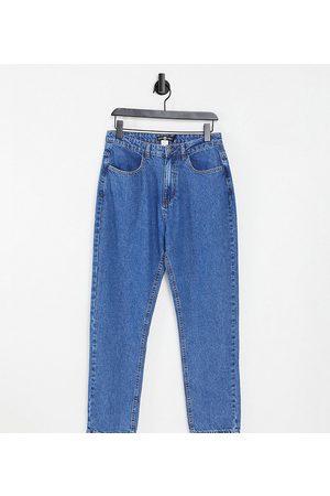 Daisy Street Mom jeans in bleach denim