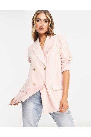 UNIQUE21 Oversized blazer in pink