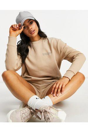 HIIT Signature sweatshirt in light brown